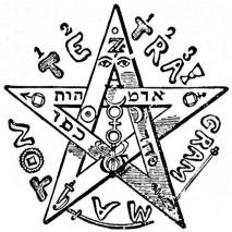 Lévi's pentagram