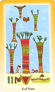 Six of Wands, Shining Tribe Tarot
