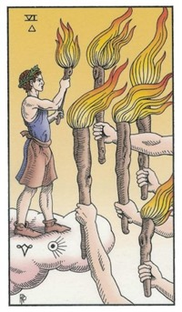 Six of Wands, Alchemical Tarot