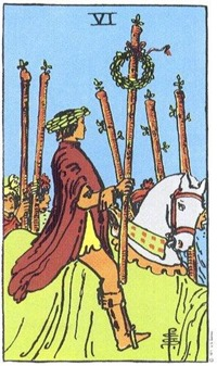 Six of Wands, Rider-Waite-Smith Tarot