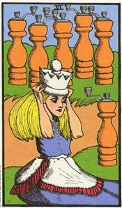 Six of Wands, Wonderland Tarot