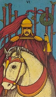 Six of Wands, Morgan Greer Tarot