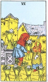 Six of Cups, RWS Tarot
