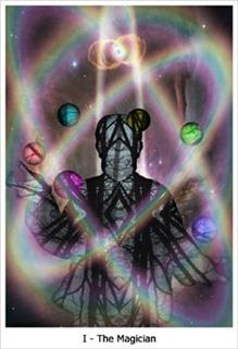 The Magician, Quantum Tarot