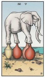 Four of Cups, Alchemical Tarot