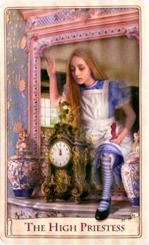 The High Priestess, Alice Tarot